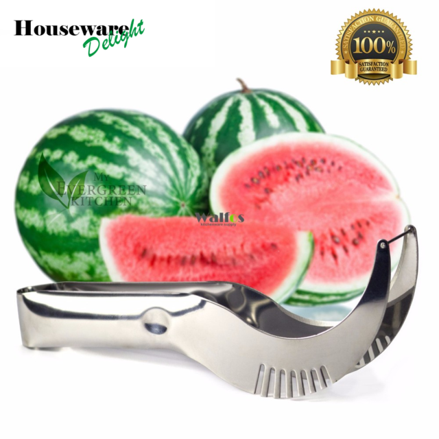 Watermelon Knife Cutter Slicer Corer Server Scoop Kitchen Tool Fruit Knife Splitter Slicer Cutter