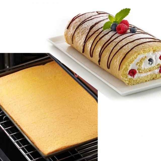 Non-Stick Silicone Oven Baking Mat DIY Multifunction 36cm*28cm. Baking tool / cake pad for Swiss rolls and more!