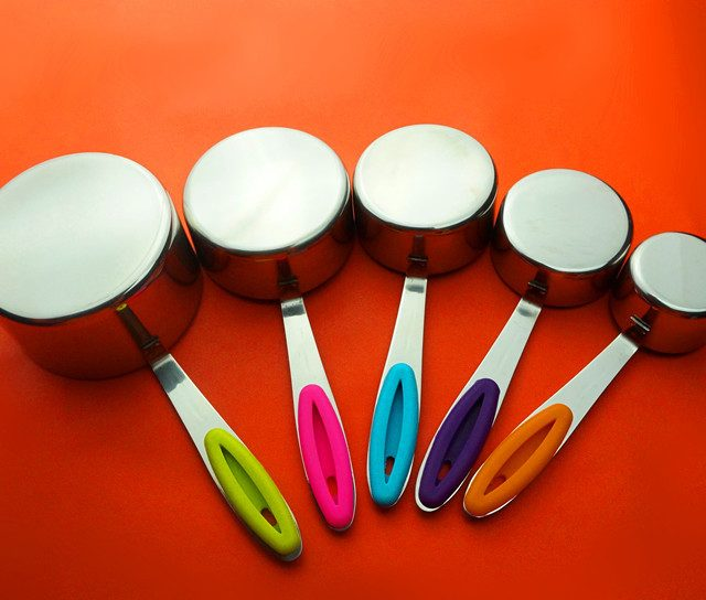 10 piece set of Stainless Steel Measuring Cups and Measuring Spoons