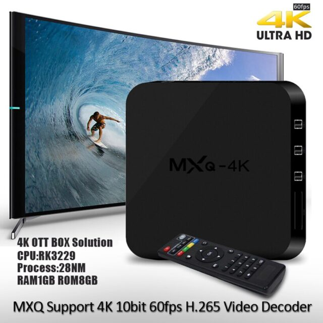 Quad-core 1G 4k 1080p HD digital Android Internet receiver smart set-top TV box connected usb hdmi WiFi network DVB