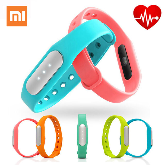 Original Xiaomi Mi Band 1S Pulse Smart Sleep Heart Rate Monitor Bracelet Fitness Tracker for Android/iOS Phone Free Shipping