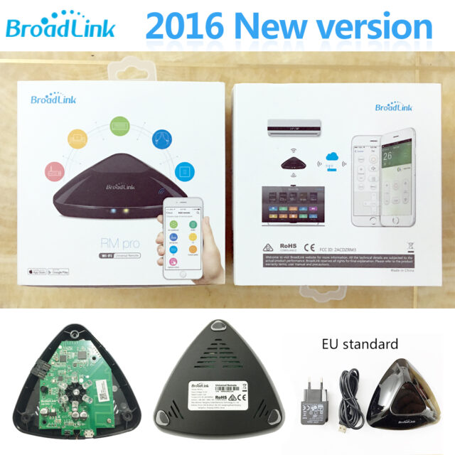 New Version Broadlink RM3 RM mini3 RM2 Pro Smart Home Automation Intelligent WIFI Universal Control IR+RF Remote Control